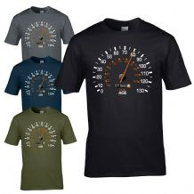 Speedometer 1940 80th Birthday T-Shirt - Funny Feels Age Year Present Mens Gift